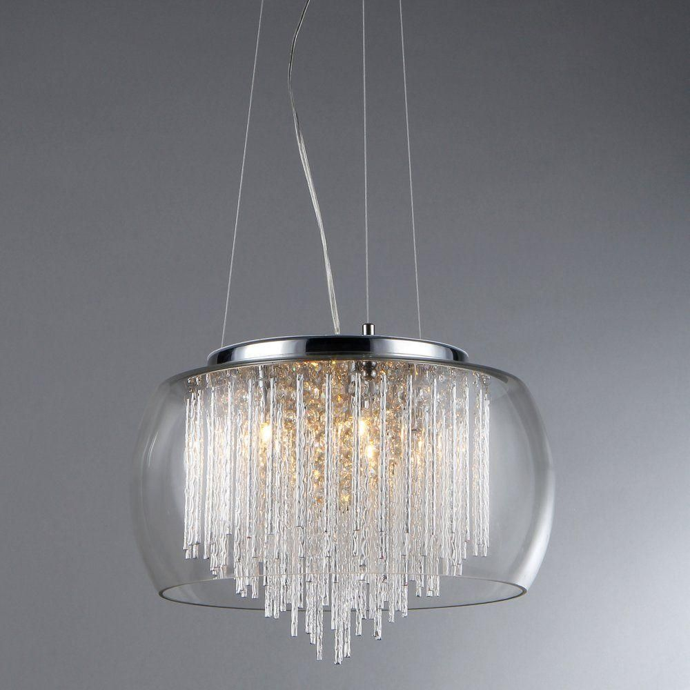 Warehouse Of Tiffany Odysseus 5 Light Crystal Chandelier With