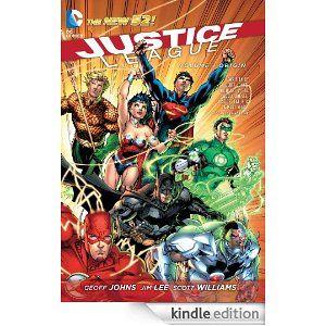 Justice League Vol. 1: Origin (The New 52): GEOFF JOHNS, Jim Lee: Amazon.com: Kindle Store