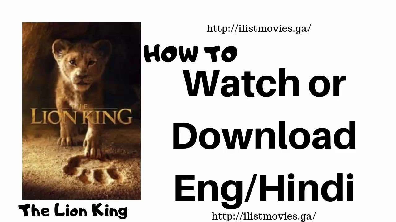 The Lion King 2019 In Hindi Dubbed Download And Watch Online Lion King Video Lion King Movie Lion King Dvd