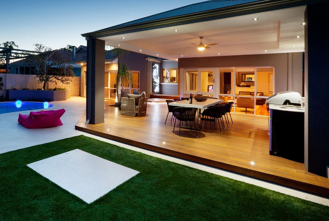 Outdoor Entertaining Area Ideas Part - 33: 45 Fabulous Deck Designs Ready To Improve Any Outdoor Living Space
