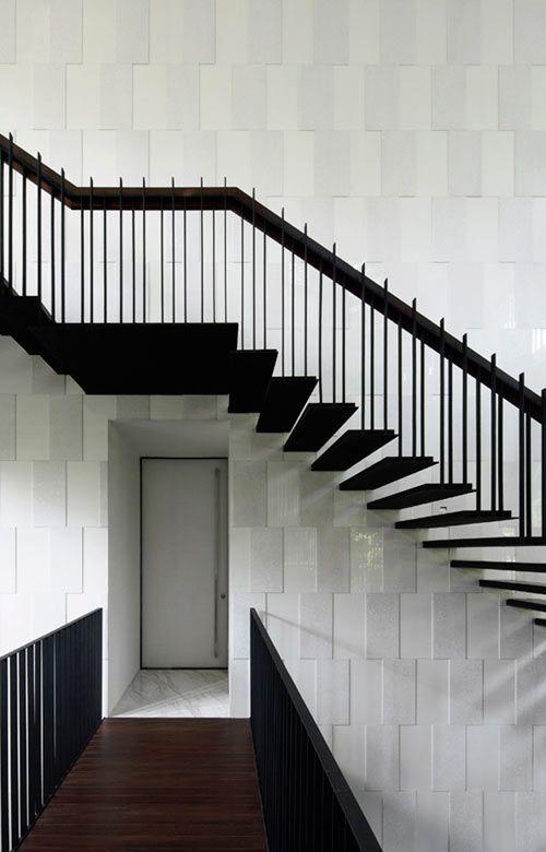 Black U0026 White House By Formwerkz Architects