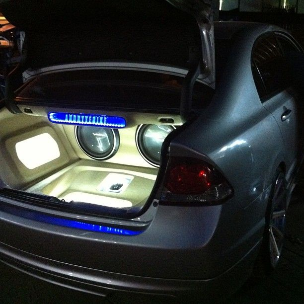 car audio mobile honda civic car audio custom installs