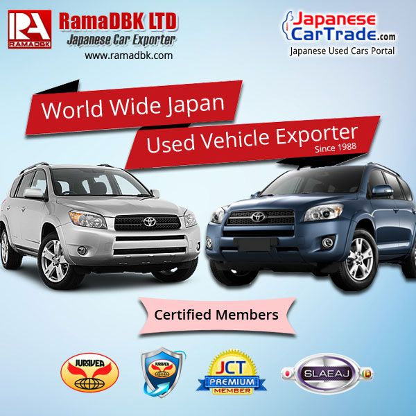 RamaDBK Ltd  - Japanese Used Vehicles & Auto Parts Exporters www