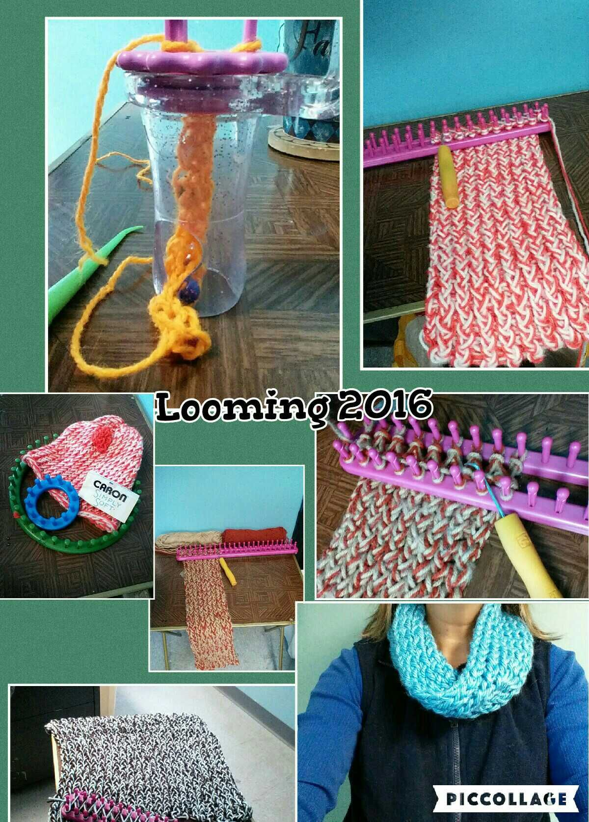 Different Types Of Looms Loom Knitting Finger Knitting And