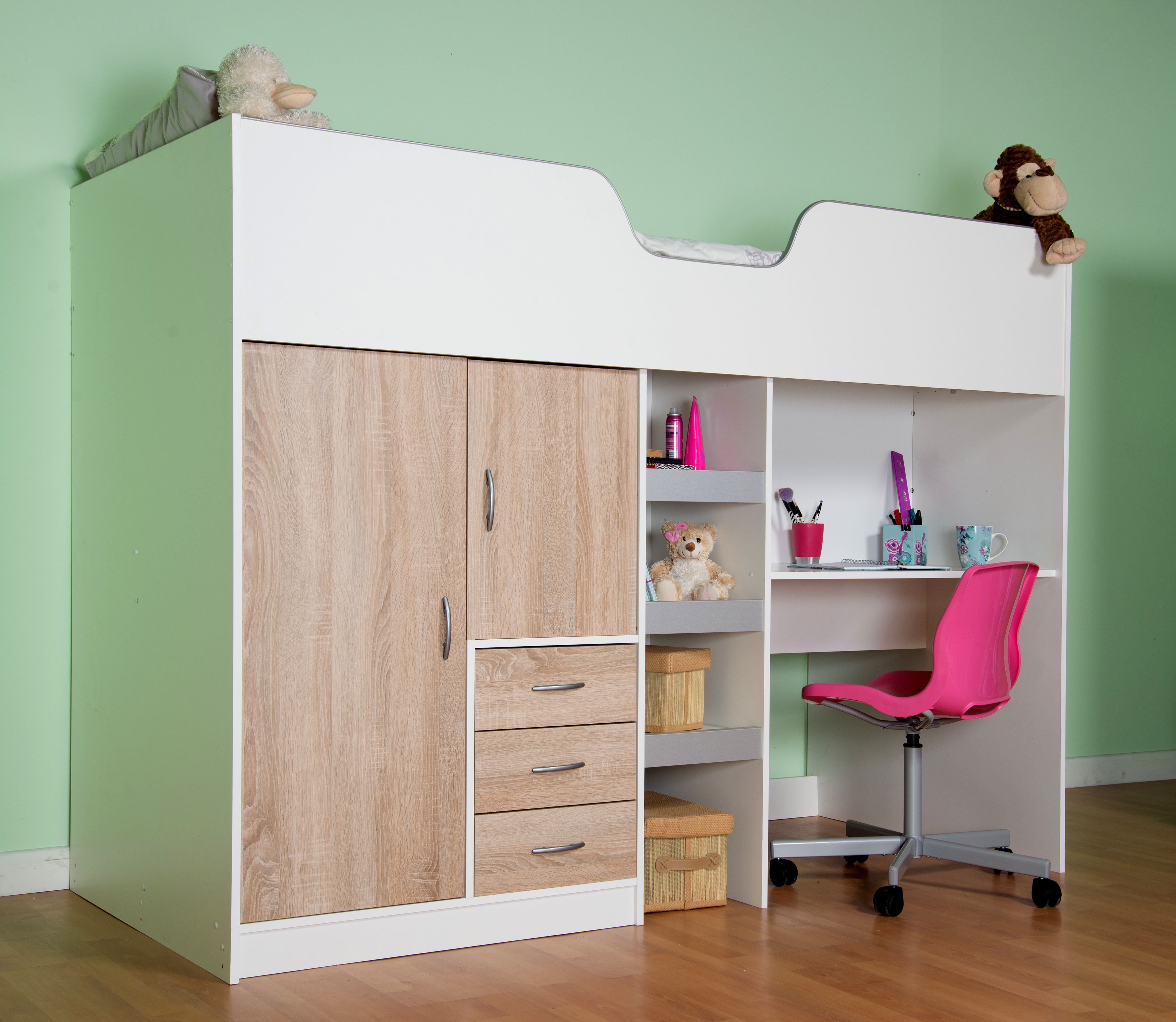 desk bespoke bed built room beds pin with and cabin below wardrobes cabins alices