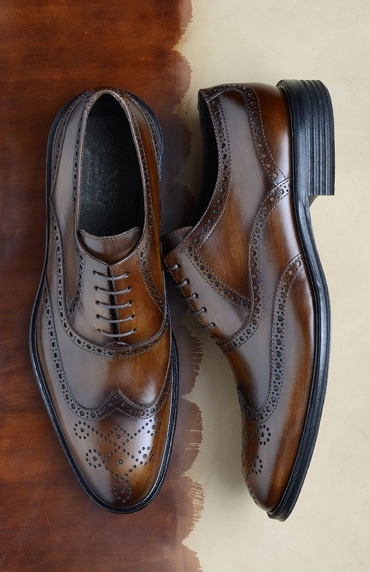a6fa26b434 Sapato Social Oxford Brogue CNS+