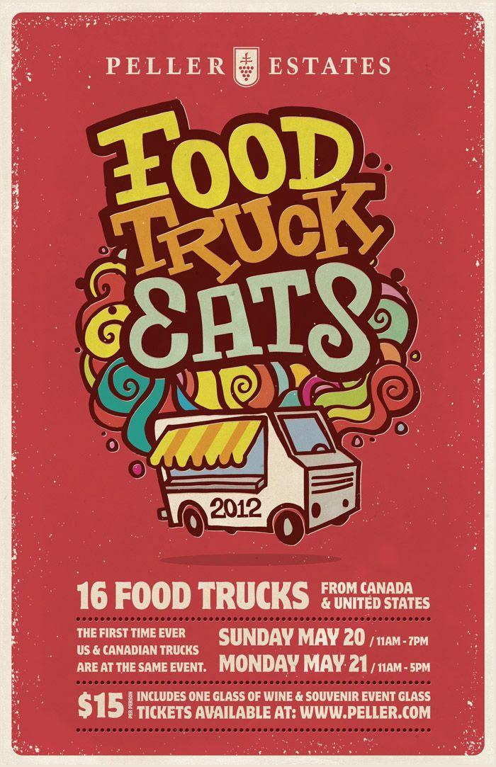 Food Trucks posters | visit insitedesign ca | Food poster ...
