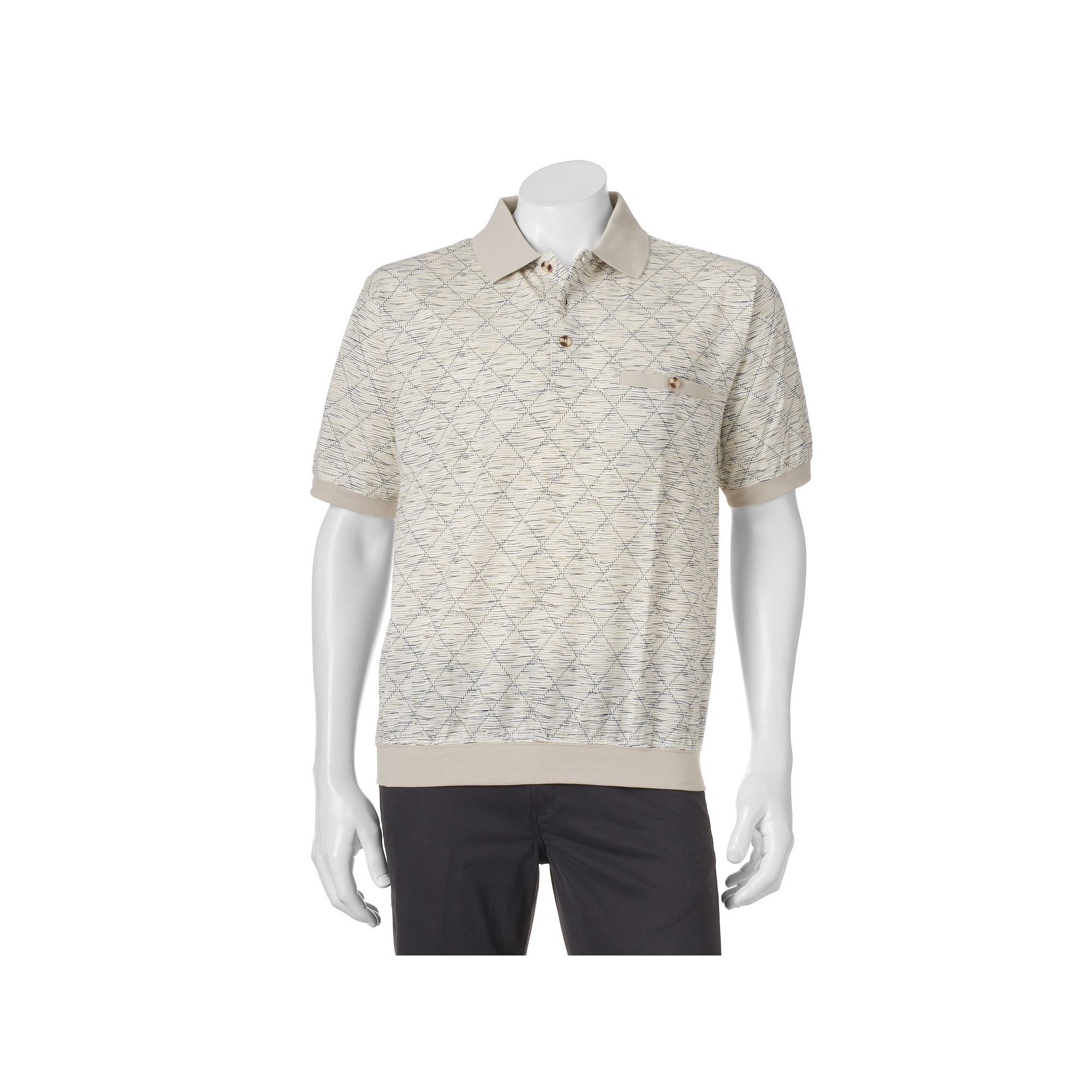 Mens Polo Shirts With Banded Bottom