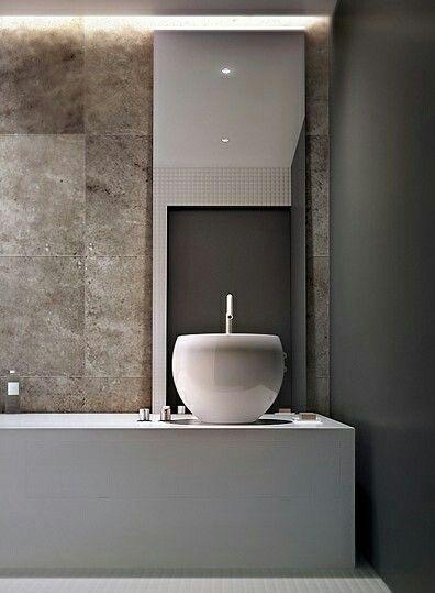 Un blog de decoración a mi manera...: Diez baños modernos y minimalistas.