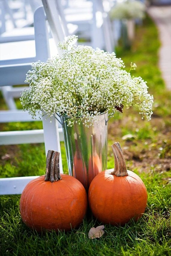 7 Rustic Fall Ceremony Ideas #ceremonyideas