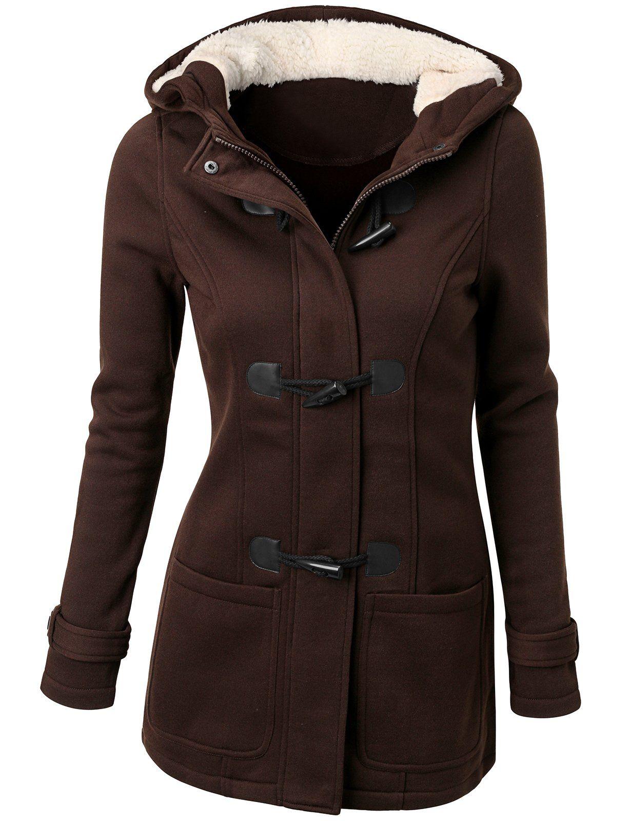 Doublju Womens Wool Blended Classic Coat Jacket Winter Fashion Coats Trench Coats Women Women Overcoat [ 1600 x 1230 Pixel ]