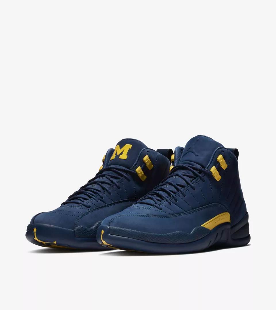 new product 2925b 948ed Jordan XII Michigan