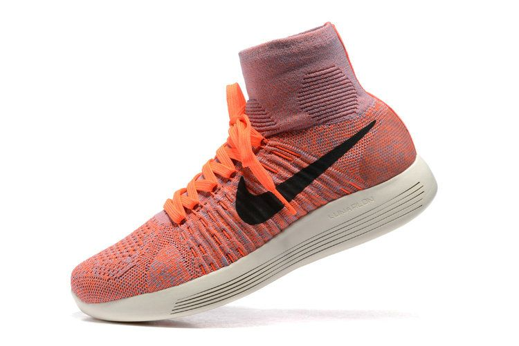 new product 33a80 bf38f get nike lunarepic flyknit blue and orange c3c63 40c44