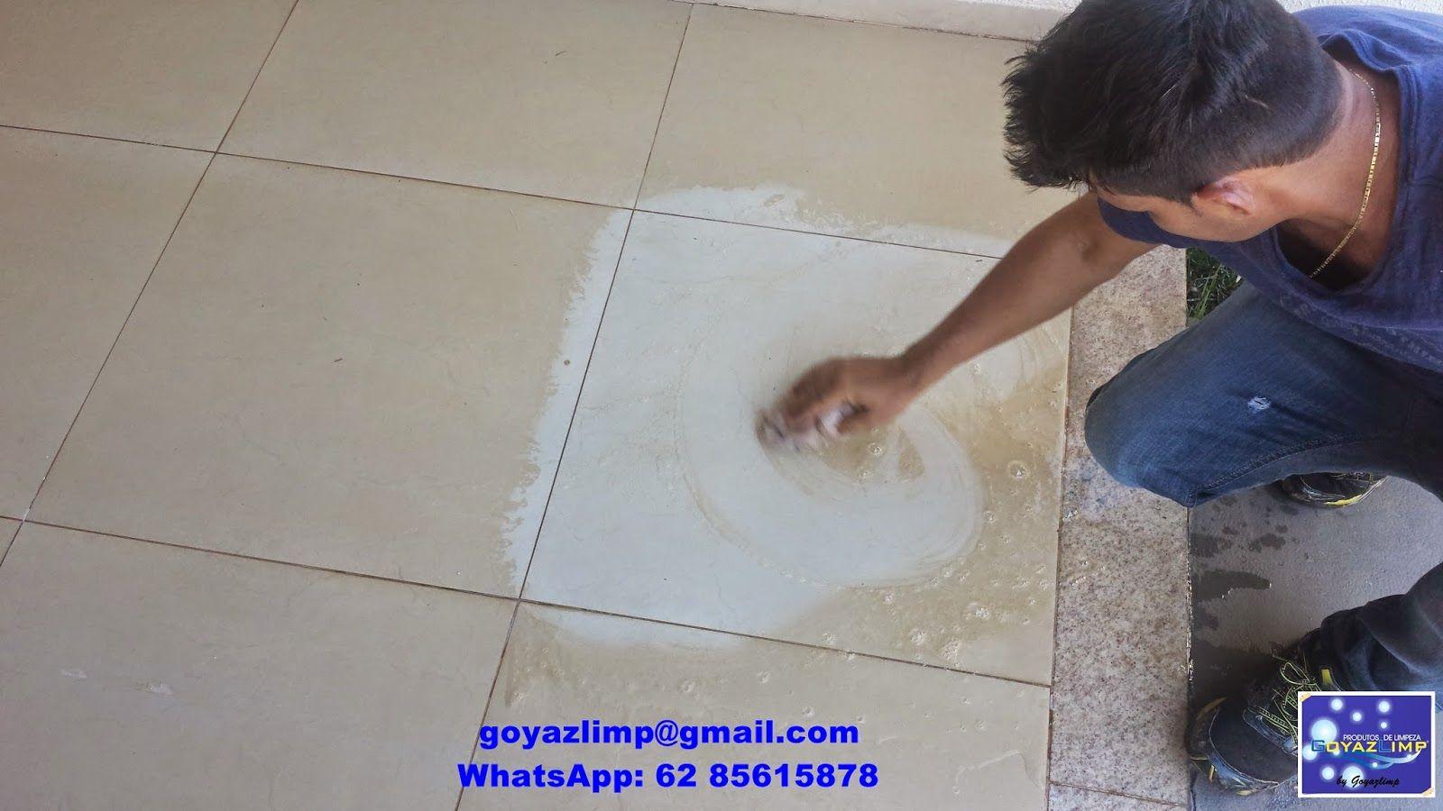 GOYAZLIMP - Limpeza de Pisos e Pedras ,Pós-obra Fazemos Impermeabilização de pisos em geral: Como limpar pisos de porcelanatos encardidos e com...