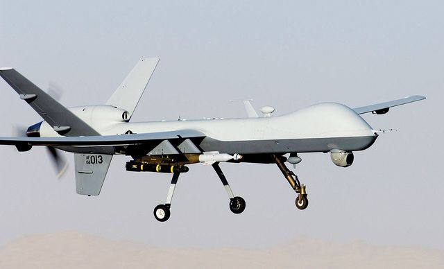 MQ-9 Reaper by Official U.S. Air Force