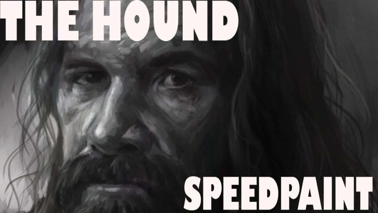 Digital Painting: The Hound - Game of Thrones