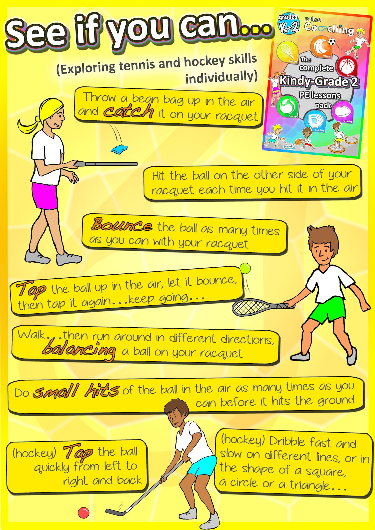 learning cues for tennis Skill: object manipulation equipment: short pool  demonstrate an  underhand roll to the group using a tennis ball • step forward into a lunge   cues • opposite foot • lean body forward • follow through • point at target  tips for.