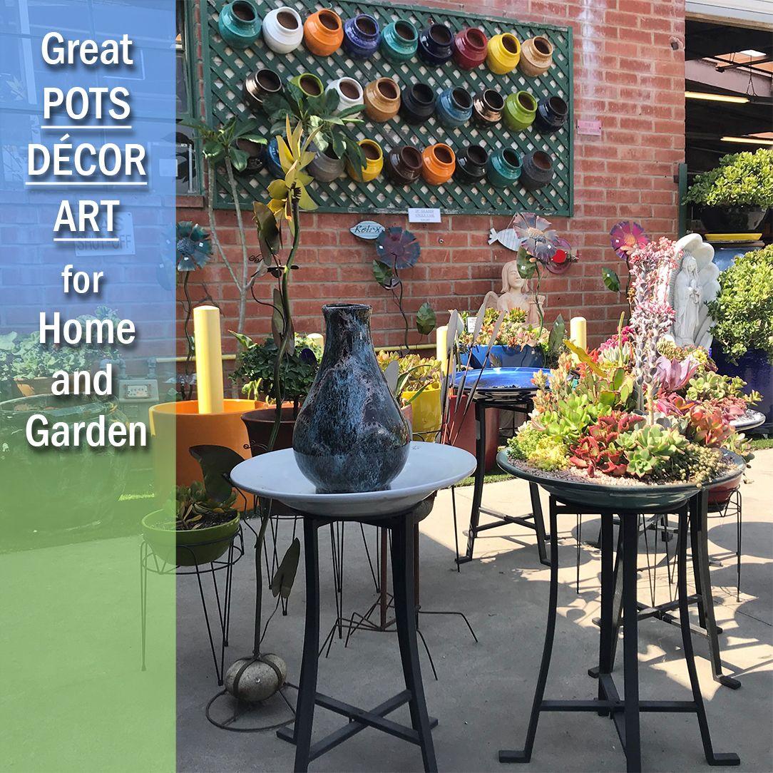 Visit Pottery Mfg's Gardena store to find wonderful garden ...
