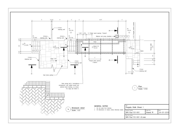 Garden Design Specifications And Plans Rumbold Ayers Design
