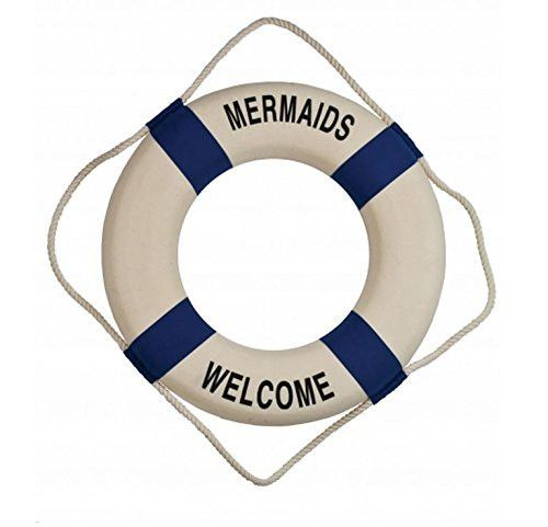 mermaids welcome decorative nautical
