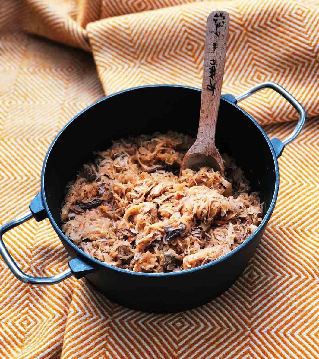 Bigos - polnischer Sauerkrauteintopf   Martyna schmeckt Bigos