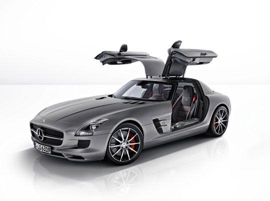 Mercedes-Benz SLS AMG GT Sports Car: Phwoar