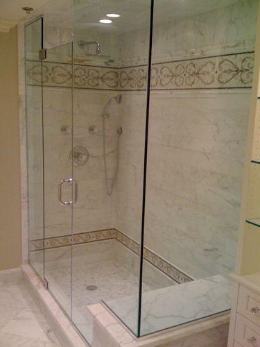 Glass Shower Frameless Door Flooring Pinterest Glass Shower