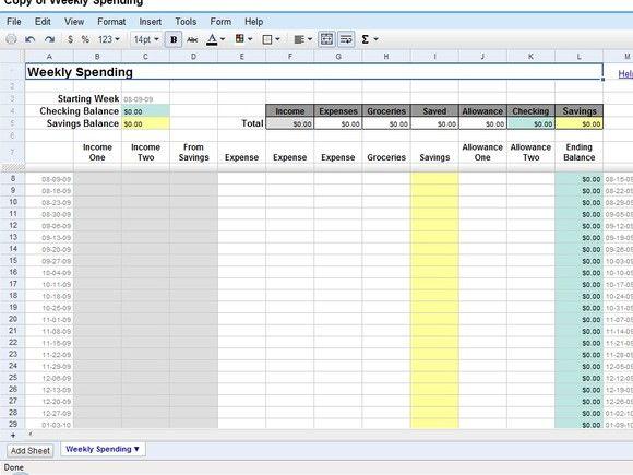 50 time-saving Google Docs templates Google docs, Nifty and Google - sample expense sheet
