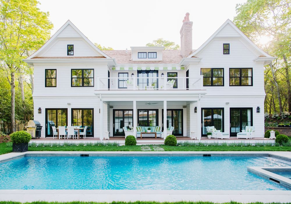 wednesday watch list pinterest black window trims beautiful rh za pinterest com Colonial House Old Windows Center Hall Colonial House Landscaping