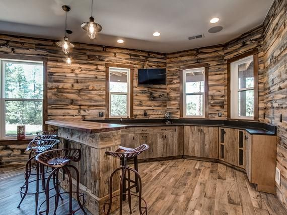 Reclaimed Wood 20 sq ft | Grey & Brown Wall Planks