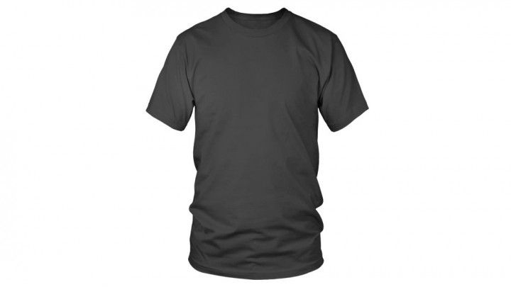 Mock this men 39 s crew neck t shirt template up on for Mock crew neck shirts