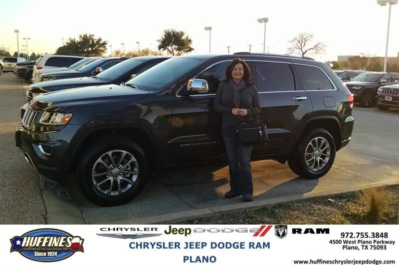 https://flic.kr/p/PZwc3Y | Happy Anniversary to Teresa on your #Jeep #Grand Cherokee from Mark Whitmire at Huffines Chrysler Jeep Dodge RAM Plano | deliverymaxx.com/DealerReviews.aspx?DealerCode=PMMM