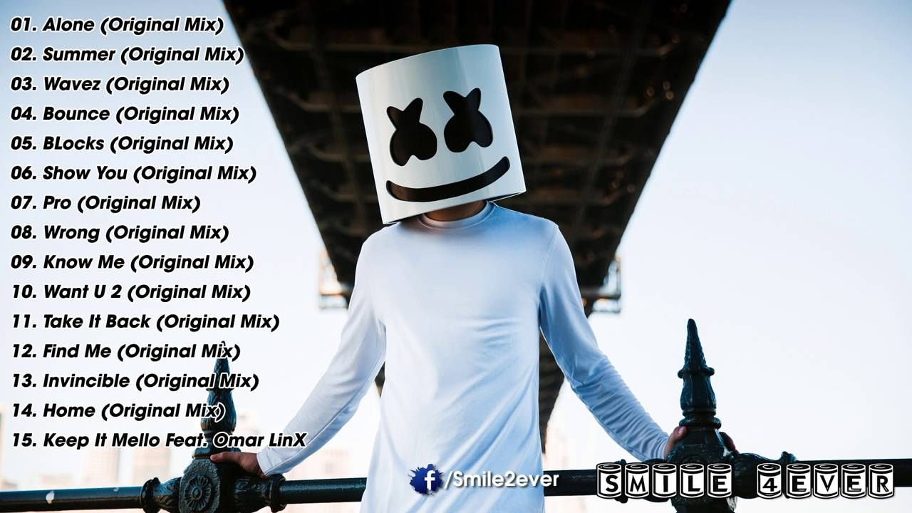 Marshmello Greatest Hits 2016 Best Songs Of Marshmello