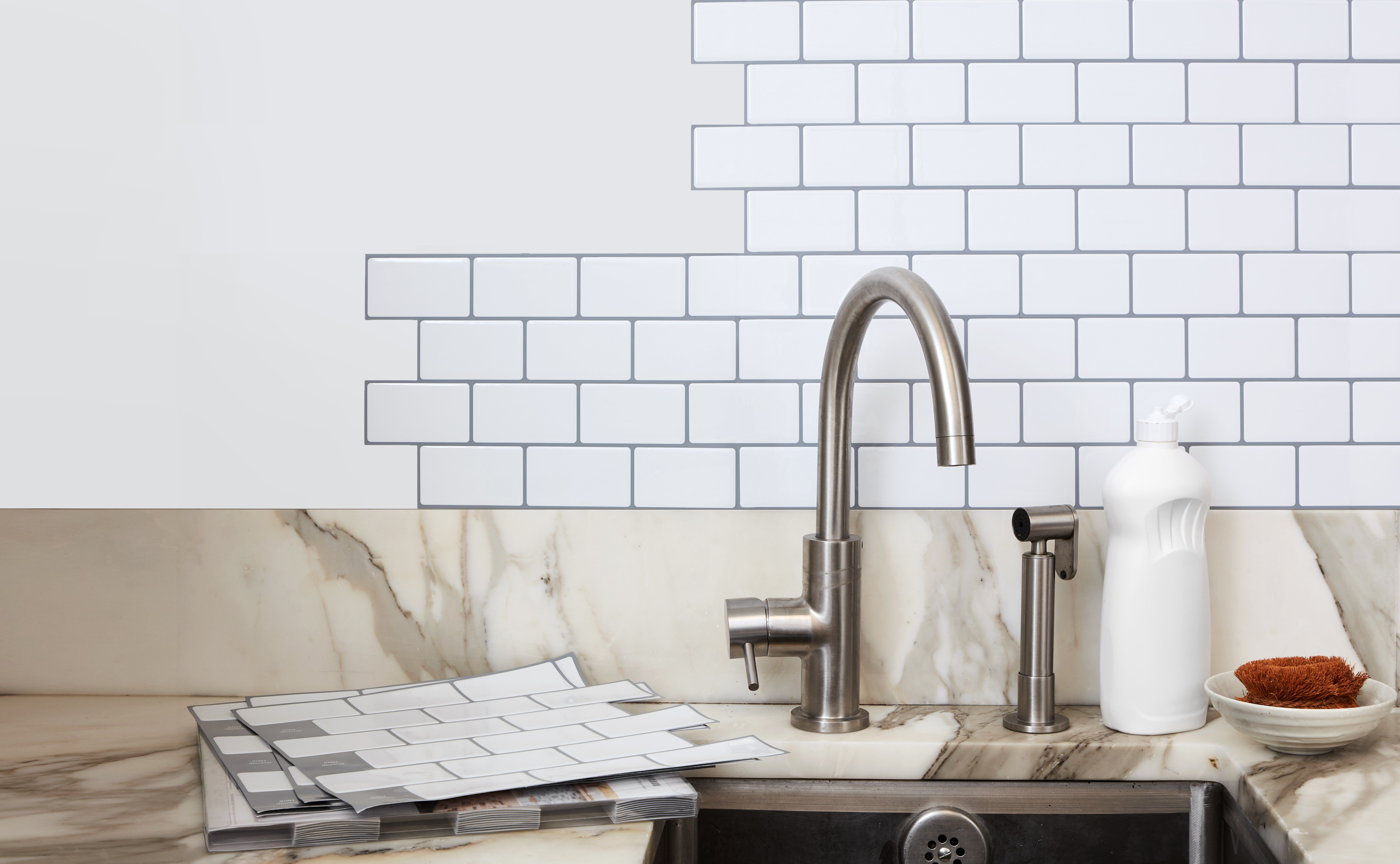 Self Adhesive Wall Tiles Will Transform Your Kitchen Self Adhesive Wall Tiles Rental Kitchen Wall Tiles
