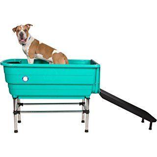 Flying Pig X Large Professional Plastic Pet Grooming Bath Tub
