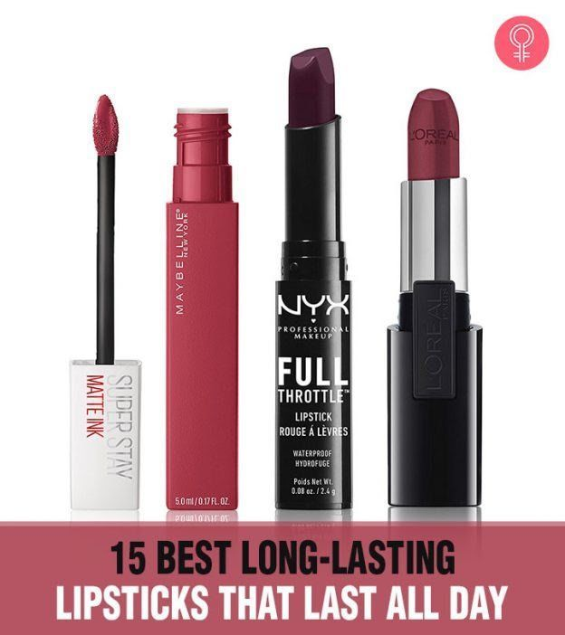 15 Best Long-Lasting Lipsticks That Last All Day-#lasting