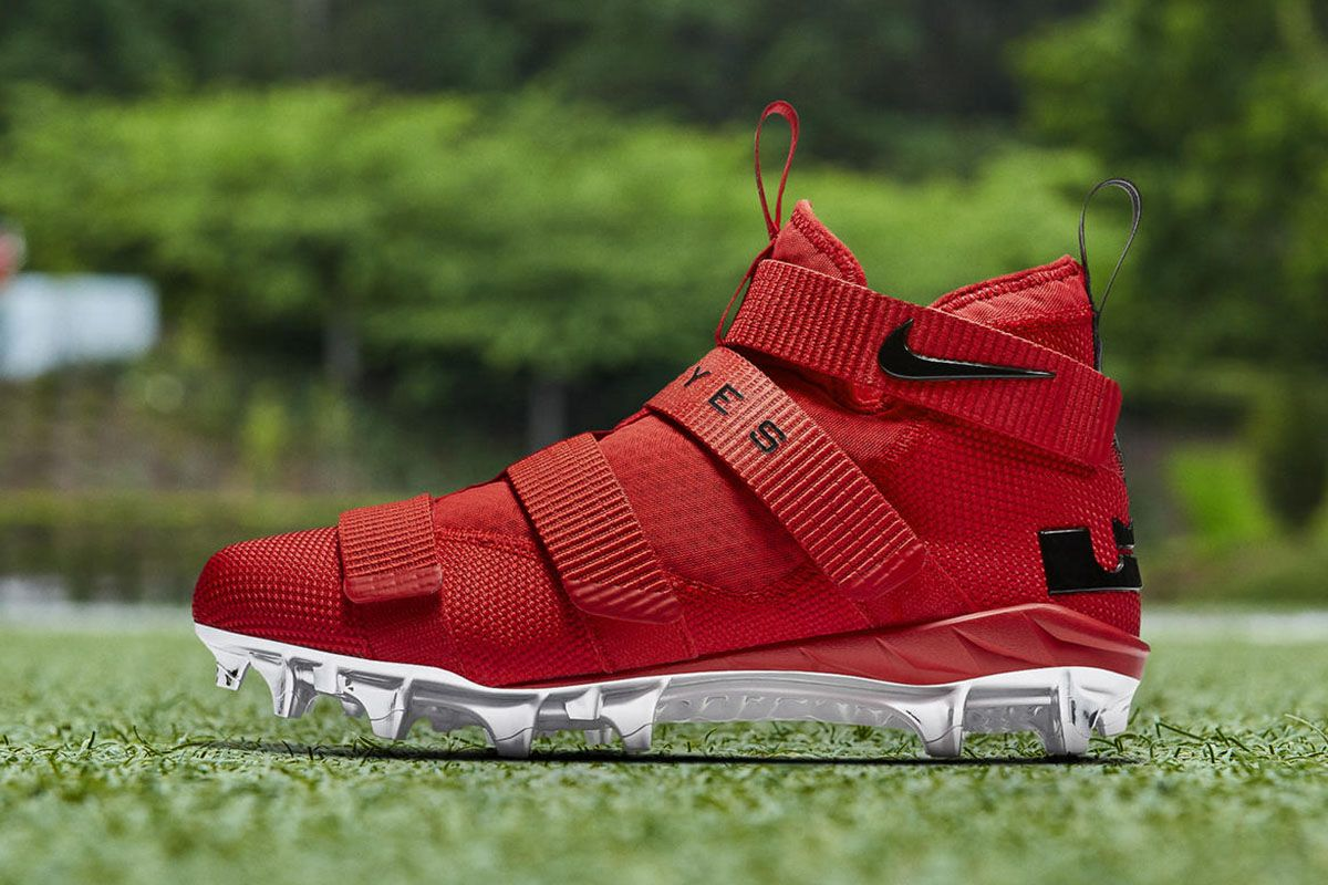 """outlet store 1954d 6f894 Nike LeBron Soldier 11 Cleat """"Ohio State"""" - EU Kicks Sneaker Magazine"""