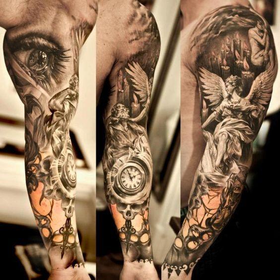 Tattoos Sleeve Tattoos For Girls Tattoo Men Angel Tattoos Mens