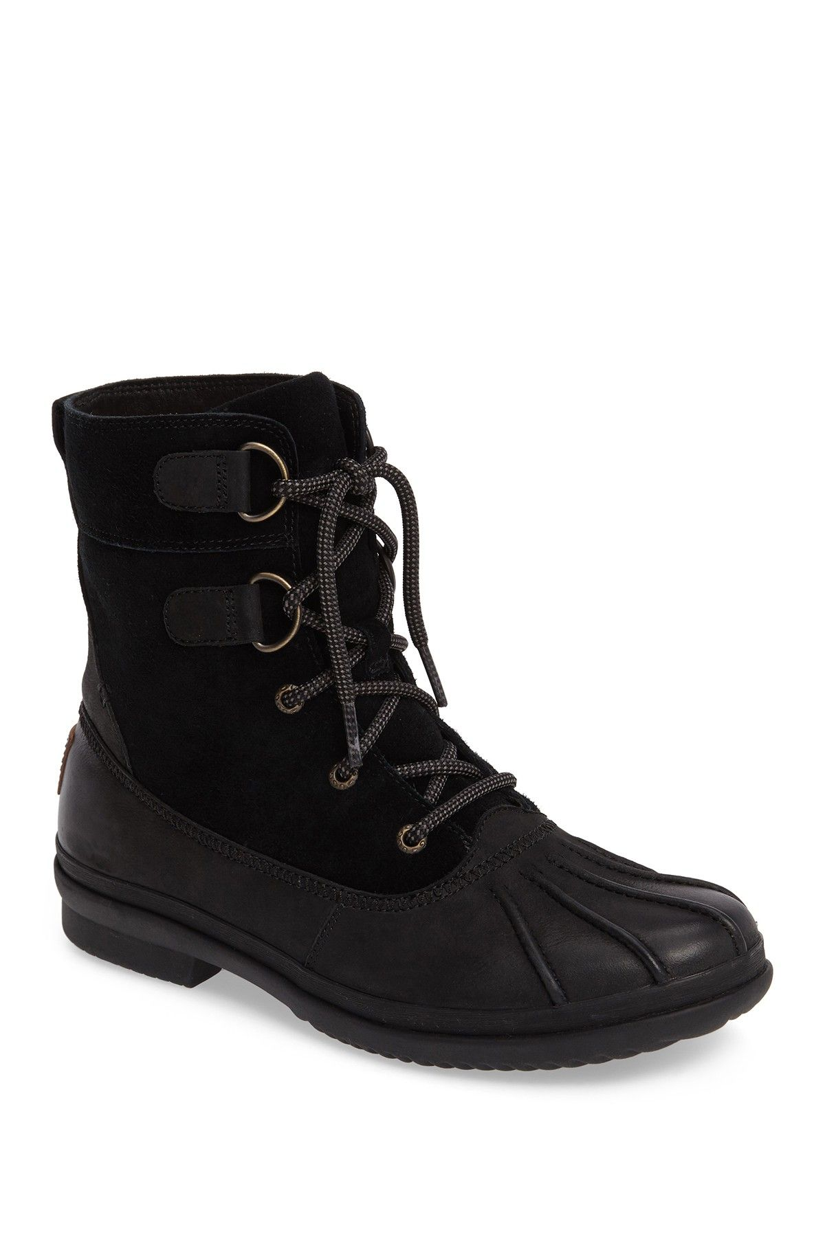 UGG   Azaria Waterproof Lace-Up Duck