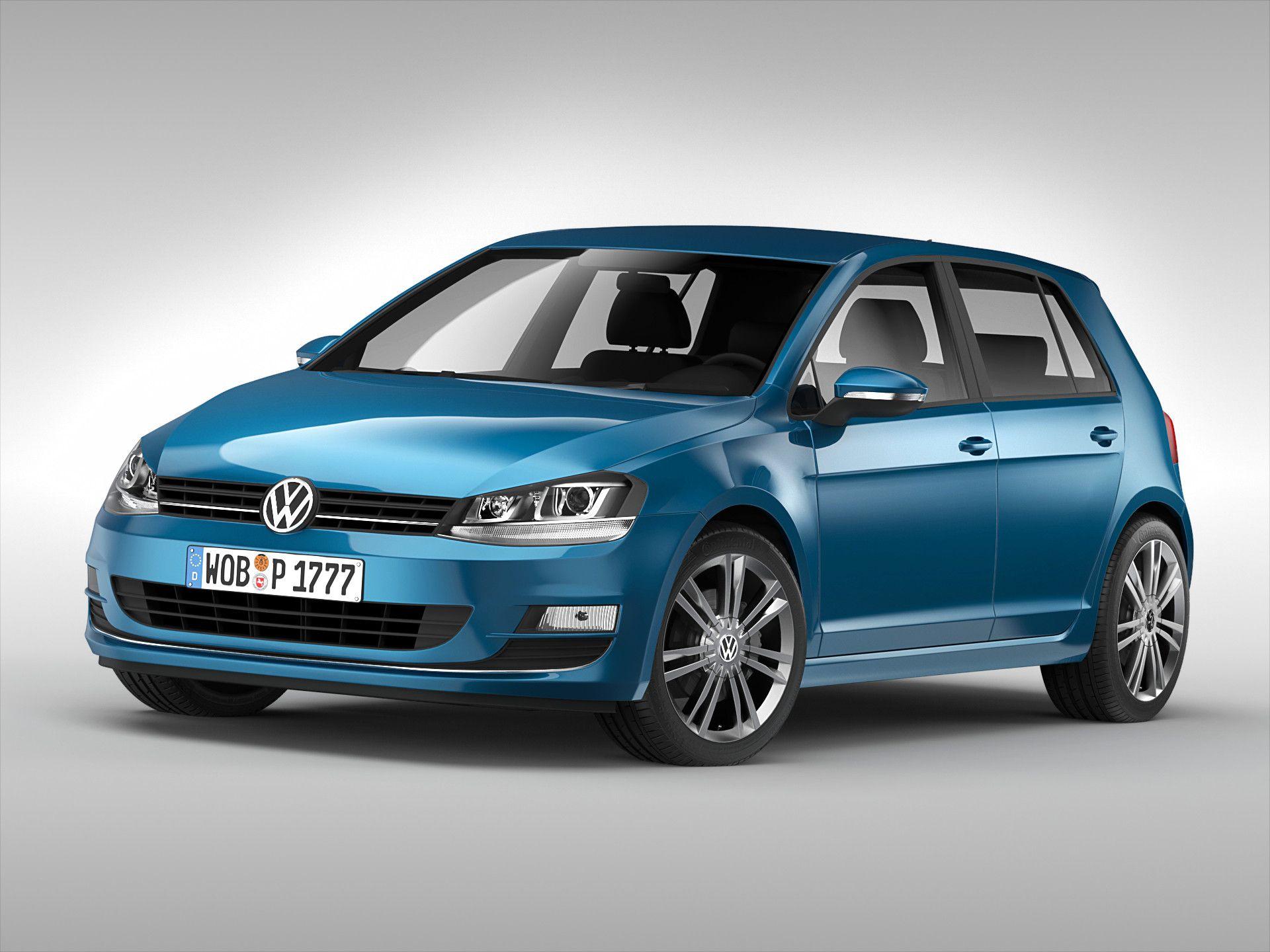 Obj Volkswagen Car - 3D Model | 3D-Modeling | Pinterest