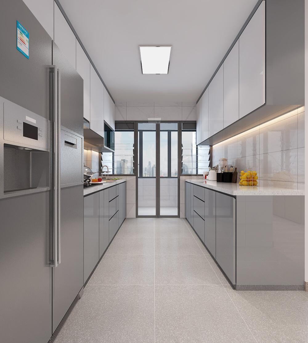 2 Sided Kitchen Area Kitchen Area Kitchen Cabinets Kitchen