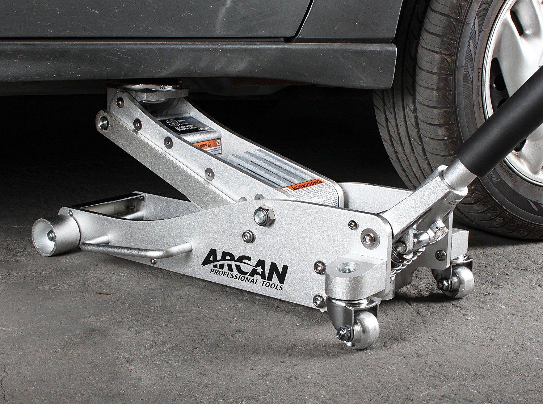 Amazon Com Arcan Alj3t Aluminum Floor Jack 3 Ton Capacity Automotive Floor Jack Car Jack Automotive