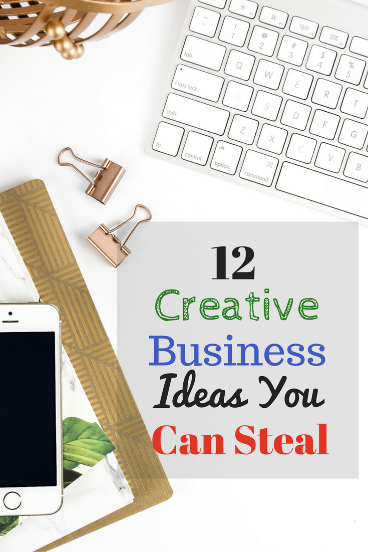 12 Creative Business Ideas You Can Steal | Pinterest | Business ...