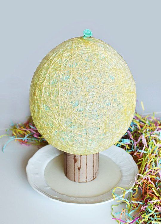 Diy project idea how to make easter baskets from sugar string diy project idea how to make easter baskets from sugar string apartment therapy reader project tutorials negle Choice Image