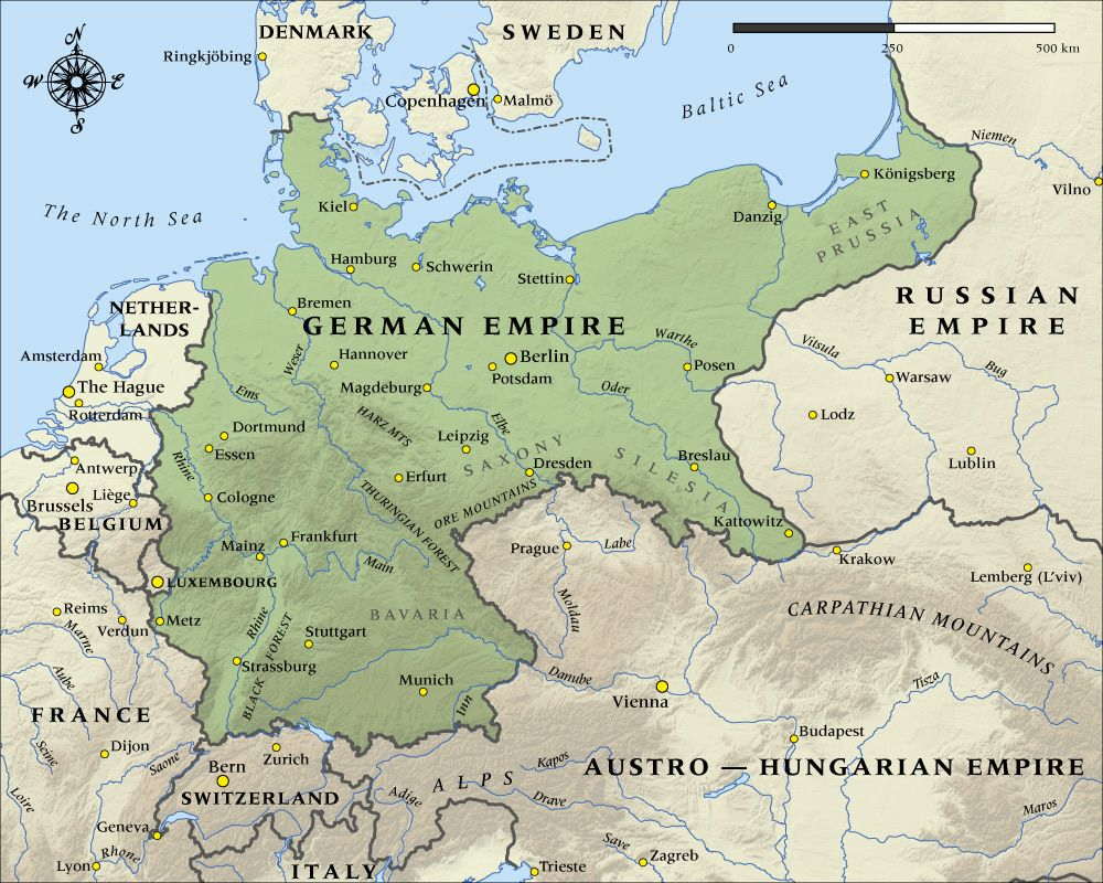 German Empire in 1914 Historical Maps Pinterest Empire History and Wwi