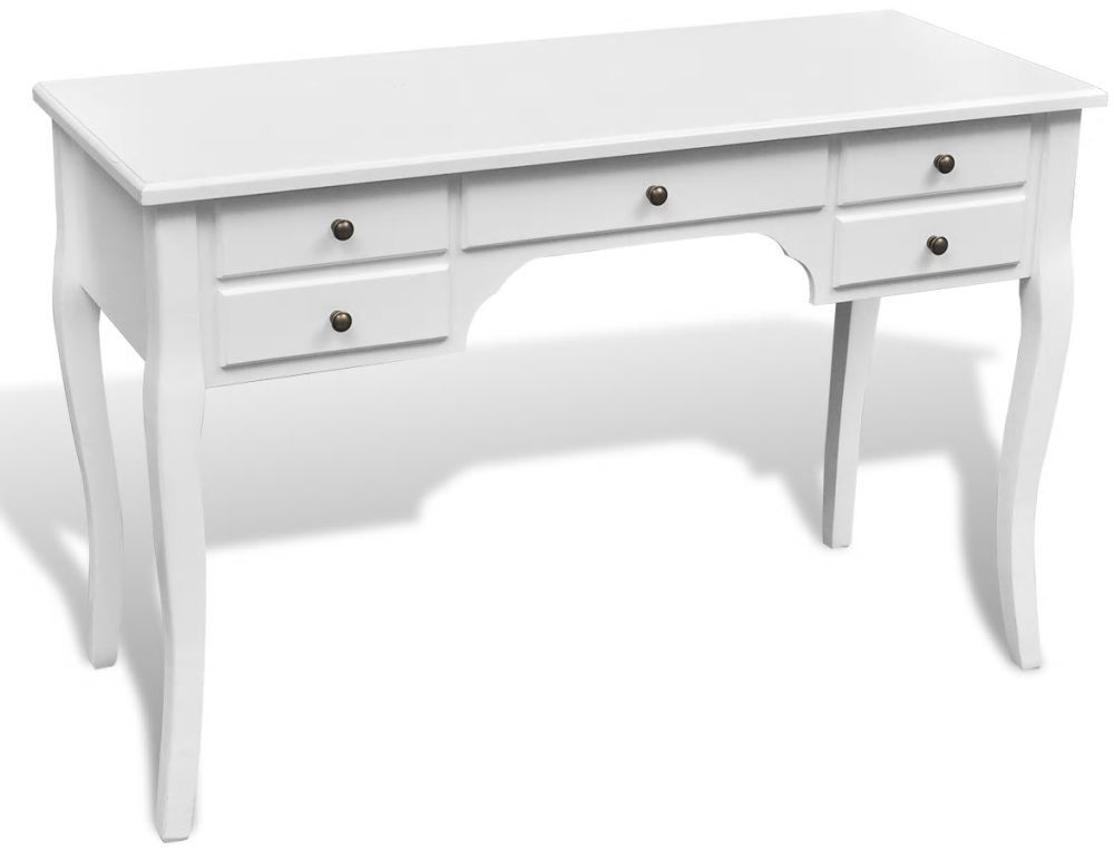 H4home French Style Writing Desk White With Images French Desk Home Office Furniture White Desks
