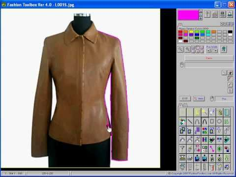 Fashion Toolbox How To Trace A Design From A Photo Fashion Design Software Software Design Fashion Design