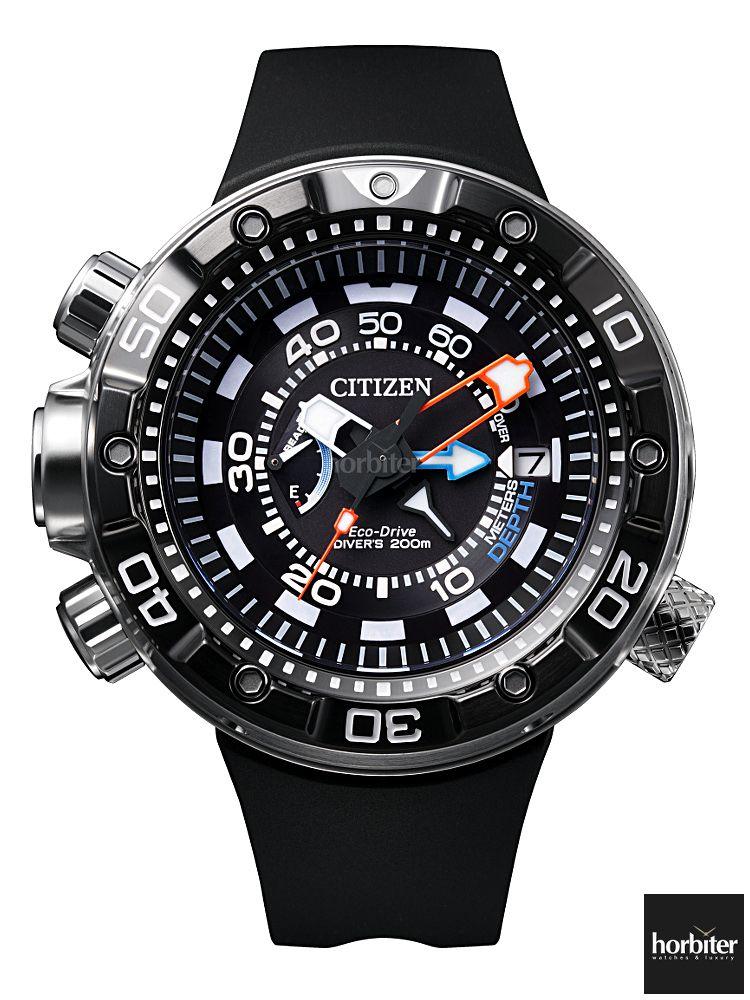 56201b80df1c Diving Soon! The CITIZEN PROMASTER AQUALAND Depth Meter 2014