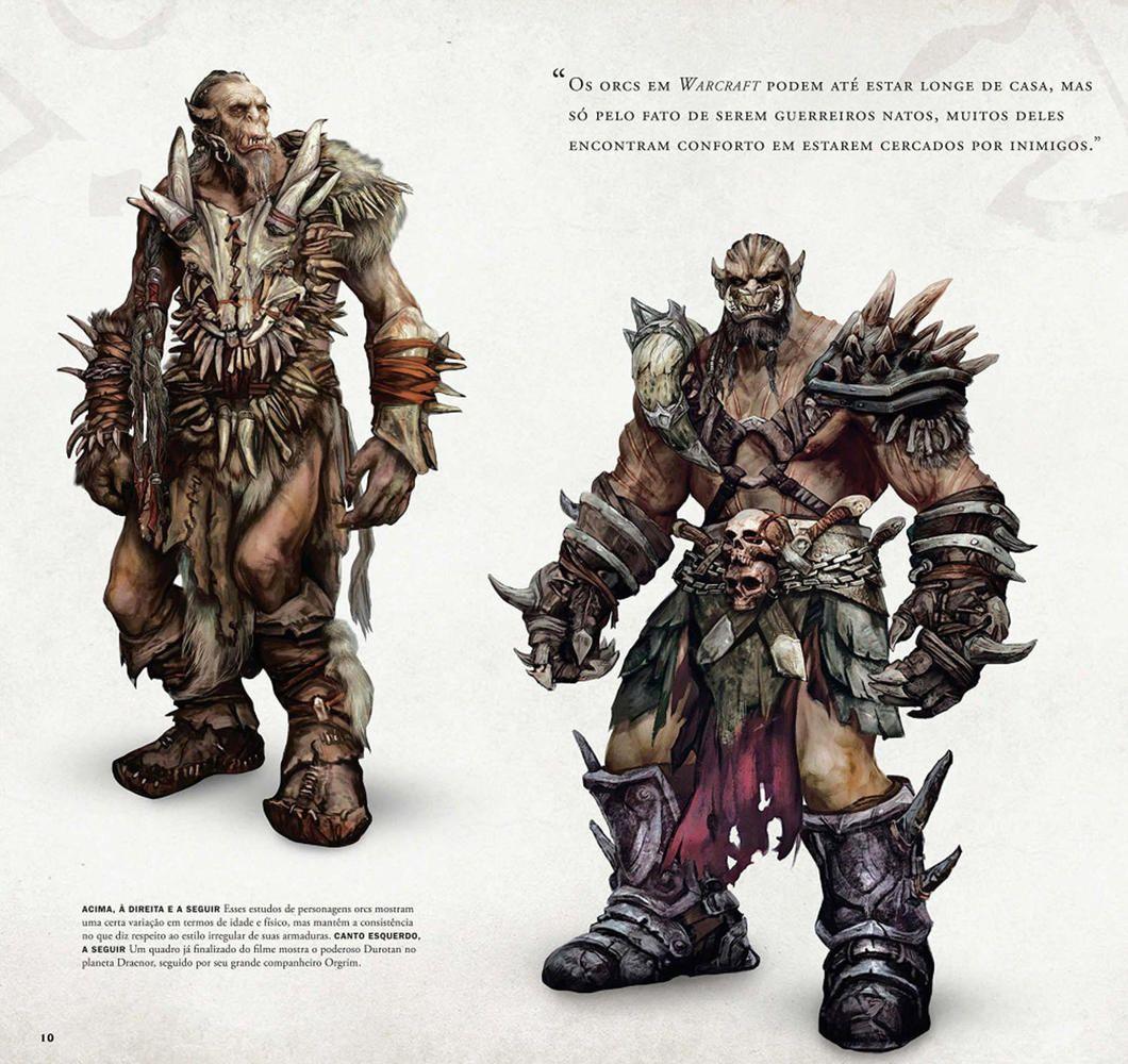 Warcraft Movie Orc Concept Book Art Art Warcraft Orc