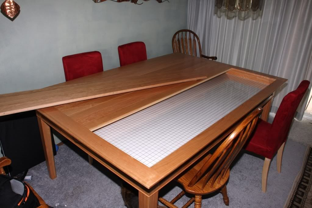 My New Gaming Table The Emissary From Geek Chic Picture Heavy